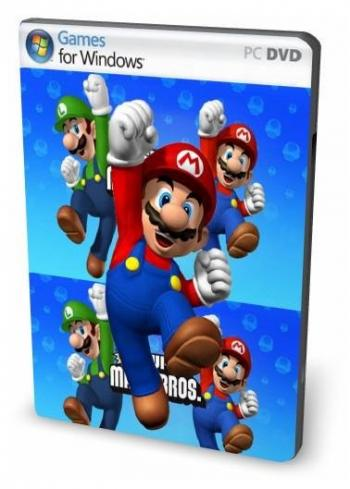 Super Mario Bros  X 1 2 1 (2010) [PC игры, Arcade] / Скачать