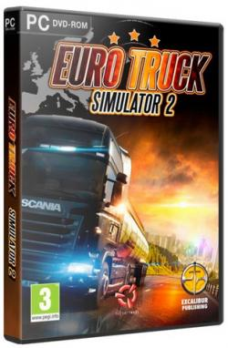 The Euro Truck Simulator 2 by xatab